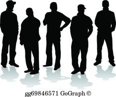 Group of men clipart free library Group Men Clip Art - Royalty Free - GoGraph free library