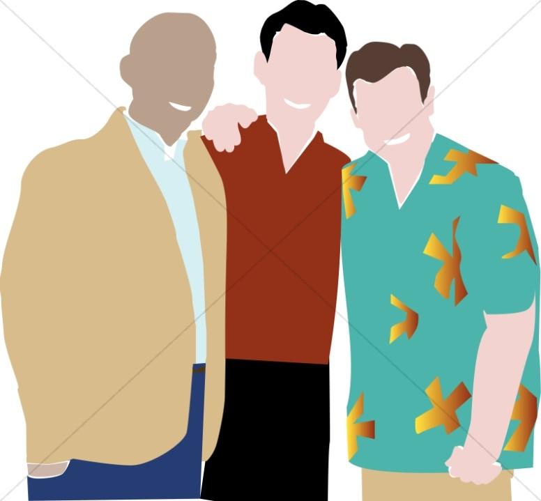 Group of men clipart clip art transparent download Men\'s Fellowship Group | Church People Clipart clip art transparent download