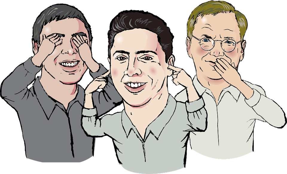 Group of people sign language clipart banner black and white stock Google clipart groups of people - ClipartFest banner black and white stock