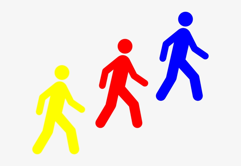 Group of people walking clipart image library stock Pix For > Clipart Group Of People Walking - Employee Entrance Only ... image library stock