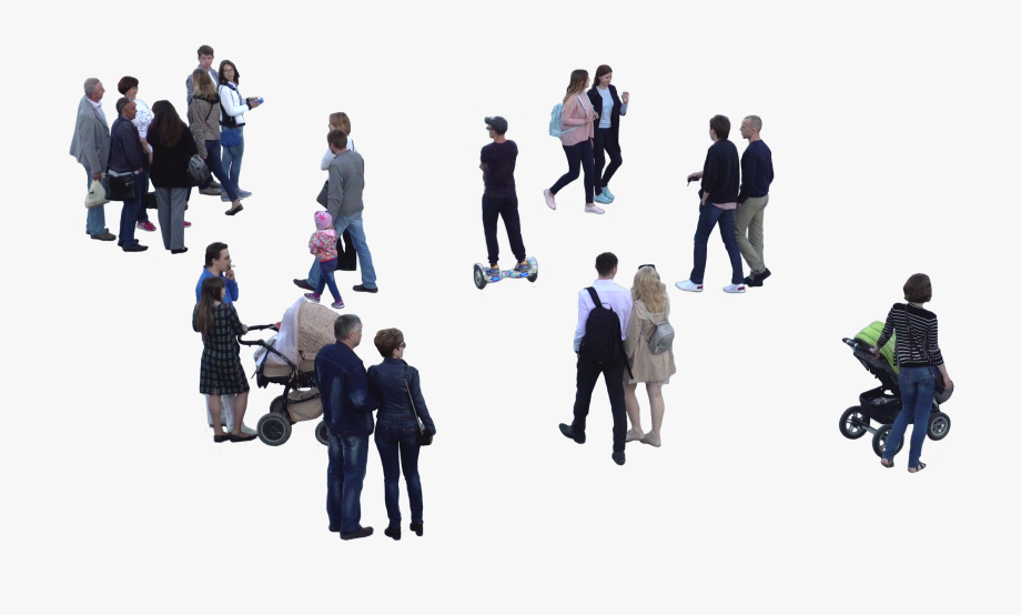 Group of people walking clipart clip art transparent library Crowd Of People Walking Png - People Group Cutout Png #195087 - Free ... clip art transparent library