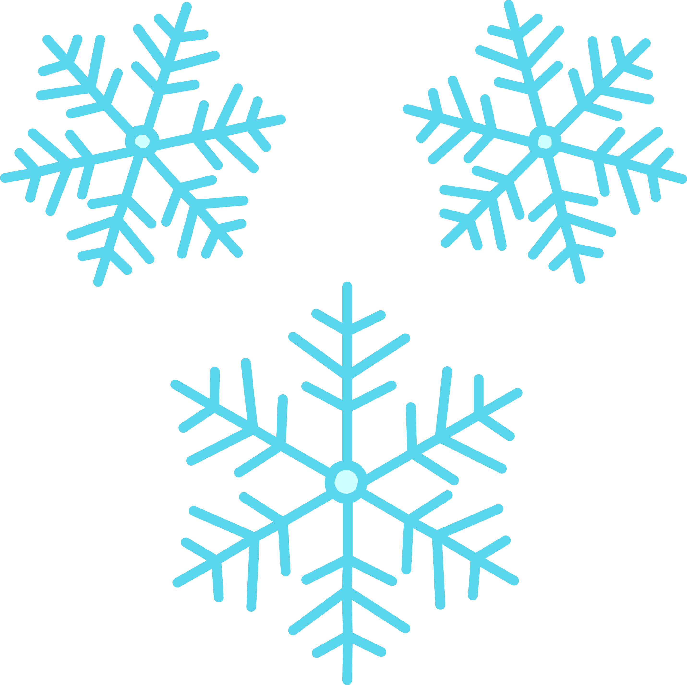 Snowflake group clipart clip art royalty free library Snowflakes Group PNG - PHOTOS PNG clip art royalty free library