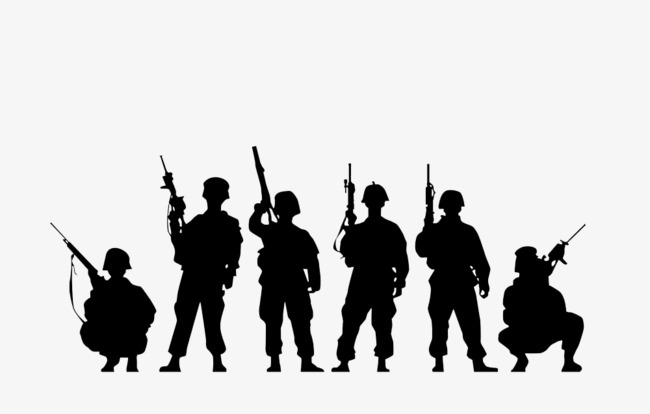 Group of soldiers clipart svg royalty free library Group of soldiers clipart 6 » Clipart Station svg royalty free library