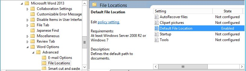 Group policy clipart picture black and white library Setting the default file location for attachments in Microsoft Outlook - picture black and white library