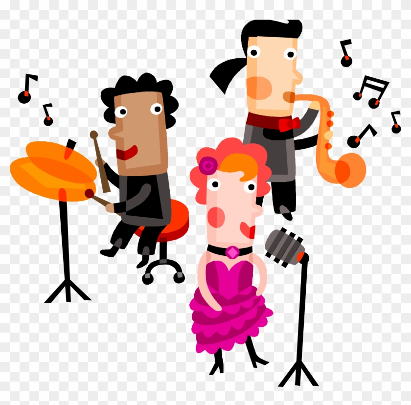 Group singing clipart vector download Singing Clipart Group Singer - Musical Performance Clip Art, HD Png ... vector download