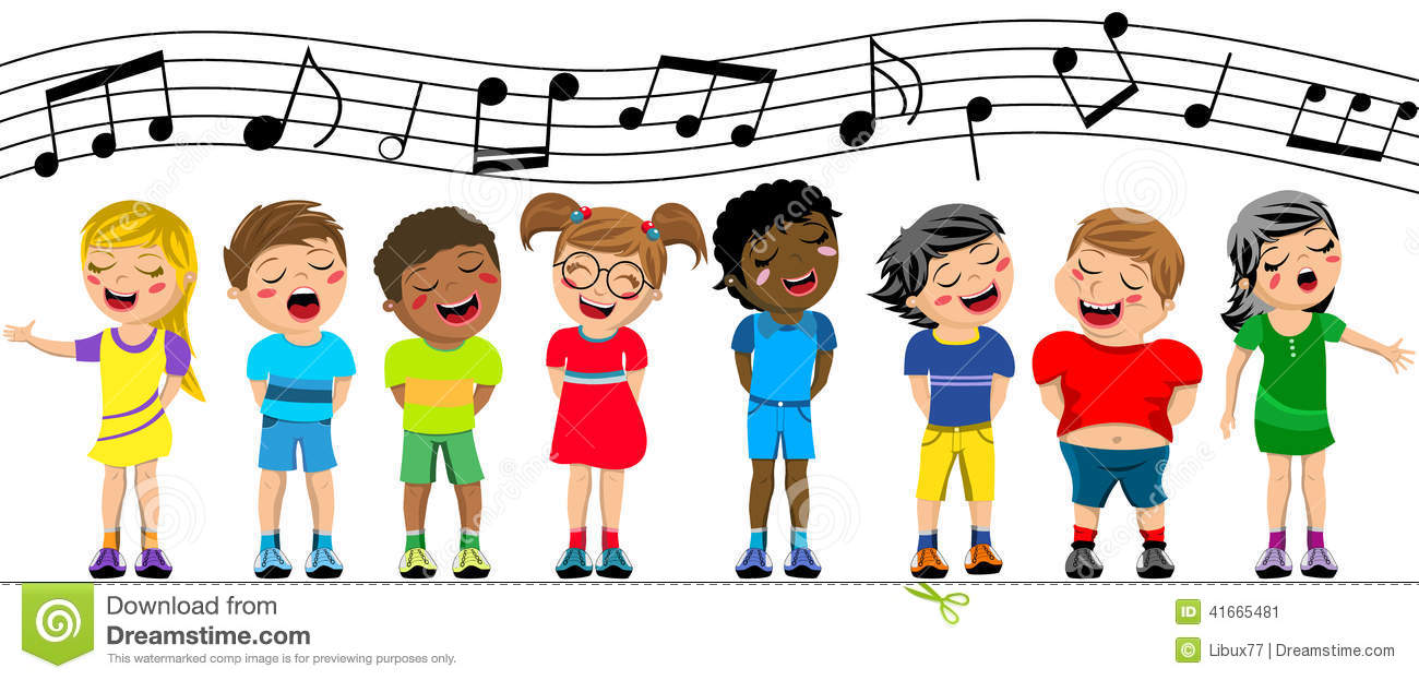 Group singing clipart vector royalty free download Children Singing Clipart | Free download best Children Singing ... vector royalty free download