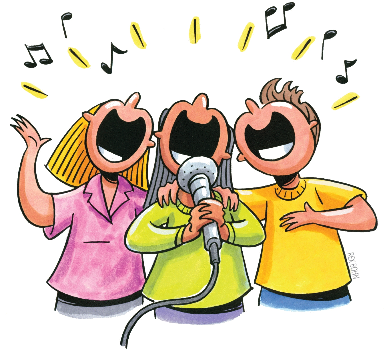 Group singing clipart banner free library 92+ Singing Clipart | ClipartLook banner free library