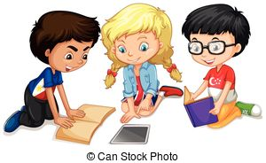 Group work clipart picture black and white library Free Group Work Cliparts, Download Free Clip Art, Free Clip Art on ... picture black and white library