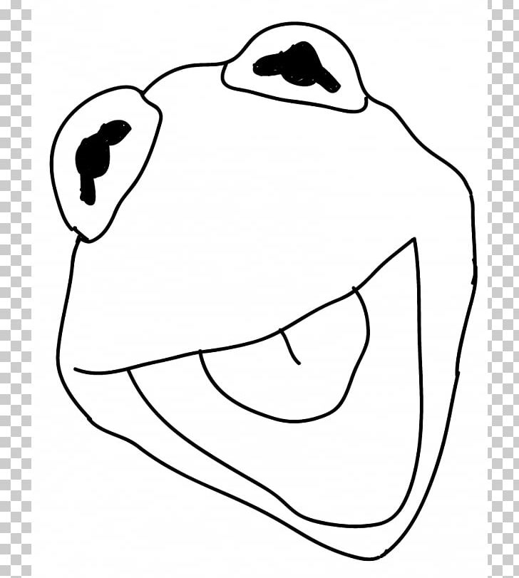 Grover from the muppets clipart black and white clip transparent Kermit The Frog Miss Piggy Grover PNG, Clipart, Art, Black, Black ... clip transparent
