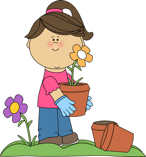 Kids planting flowers clipart picture stock Girl Planting Flowers | "|499|537|?|166e6e421b258f1479d44f46a9bf963d|False|UNLIKELY|0.38636070489883423