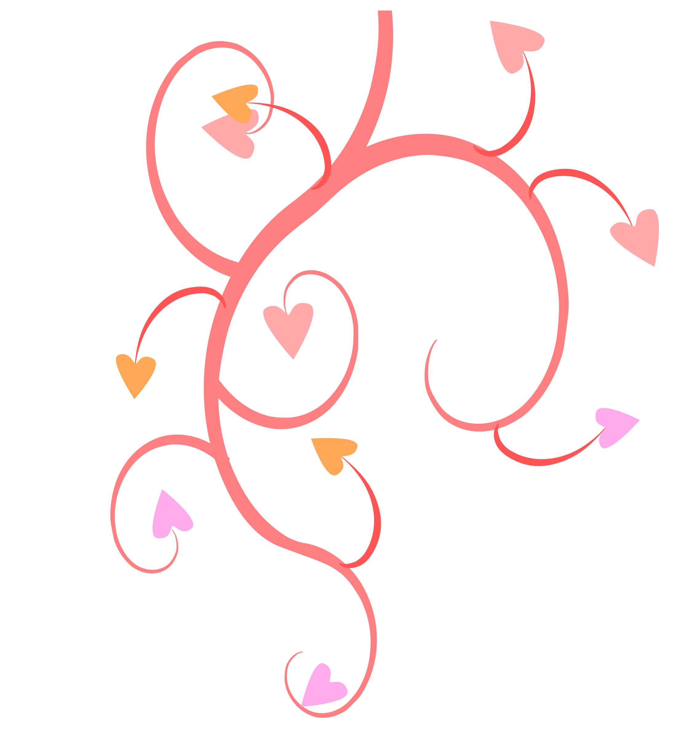 Growing heart clipart png transparent stock Clipart - Growing Hearts png transparent stock