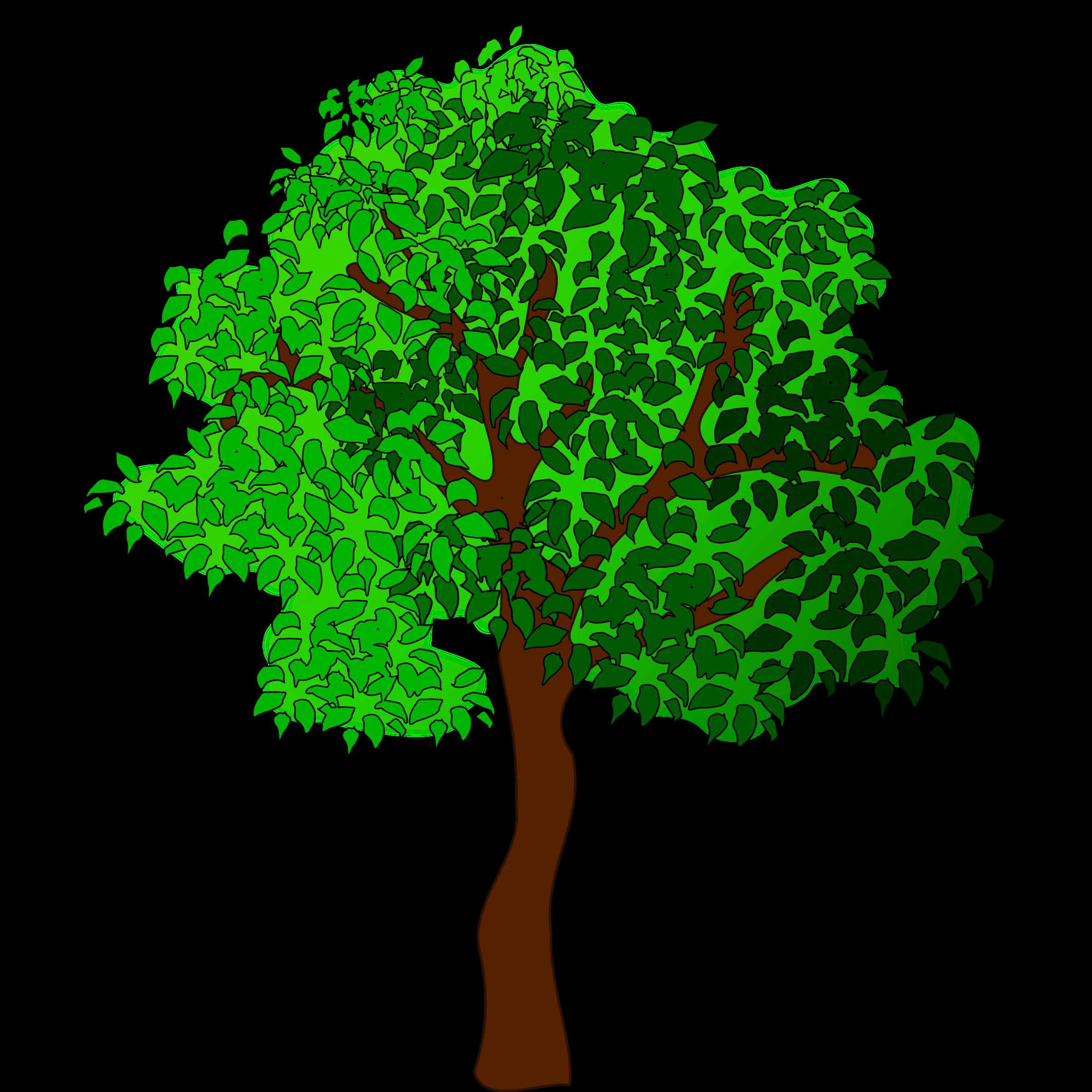 Tree family clipart vector royalty free download Clipart - tree-17 vector royalty free download