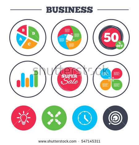 Growth arrow clipart clock image royalty free stock Business Pie Chart Growth Graph Coming Stock Vector 520500265 ... image royalty free stock