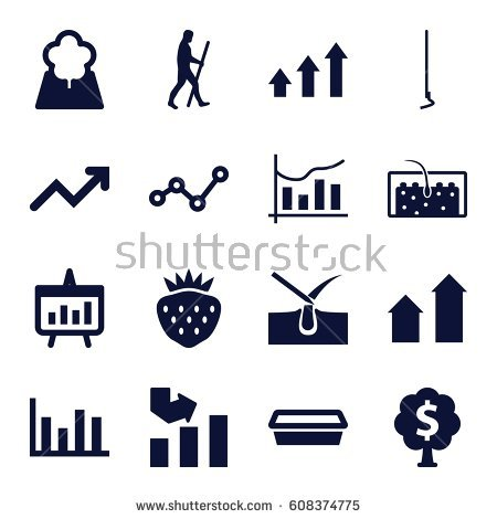 Growth arrow clipart clock svg library library Strawberries Growing Stock Vectors, Images & Vector Art | Shutterstock svg library library