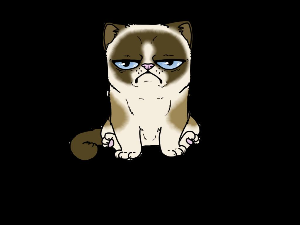 Grumpy cat face clipart svg Grumpy Cat-Coloured by FudgeTheDog on DeviantArt svg