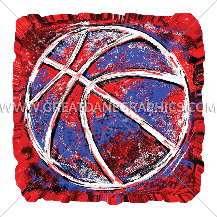 Grunge football clipart banner free library Grunge Basketball | Production Ready Artwork for T-Shirt Printing banner free library