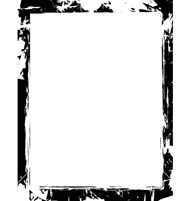 Grunge frames clipart png library library Grunge border frame vector | Clipart Panda - Free Clipart Images png library library
