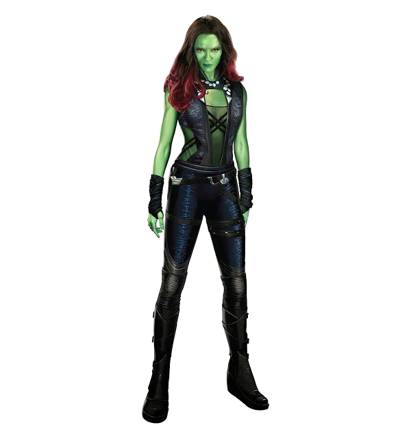 Guardians of the galaxy gamora clipart