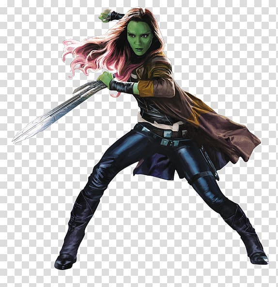 Guardians of the galaxy gamora clipart graphic stock Yondu Black Panther Gamora Rocket Raccoon Mantis, guardians of the ... graphic stock