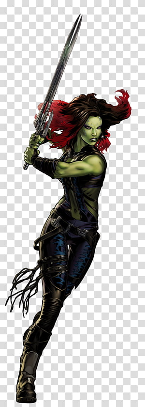 Guardians of the galaxy gamora clipart image freeuse Gamora Thanos Drax the Destroyer Rocket Raccoon Groot, rocket ... image freeuse