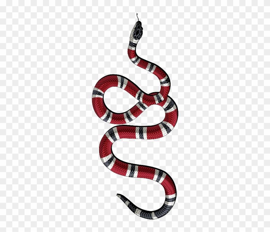 Gucci snake logo clipart vector freeuse Gucci Snake Sticker Clipart (#585145) - PinClipart vector freeuse