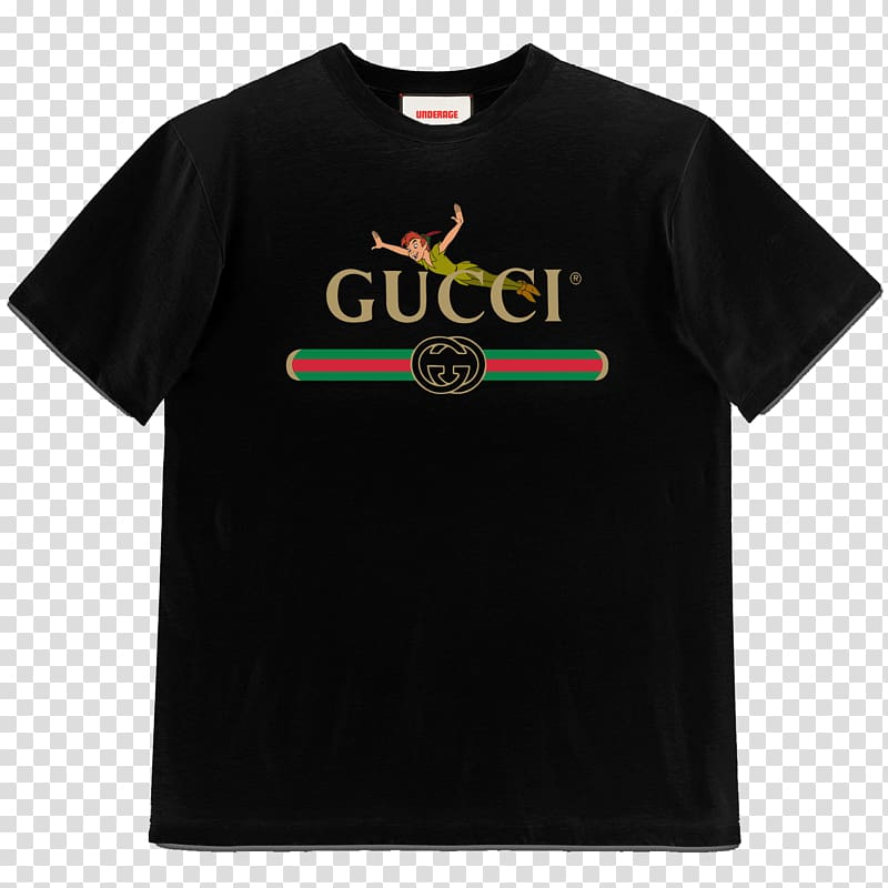 Library Of Gucci T Shirt Logo Png Black And White Download