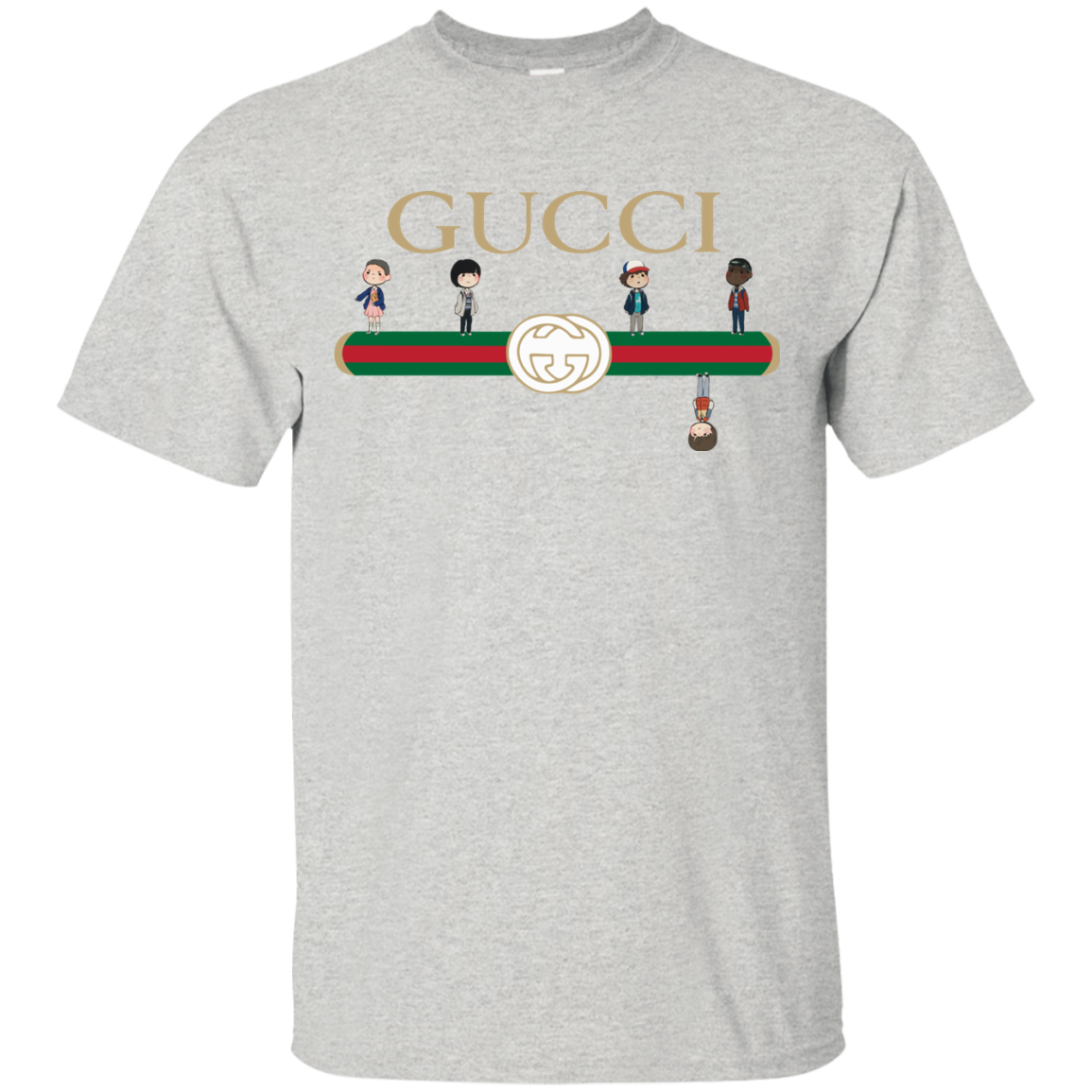 Gucci pants clipart picture free Stranger Things Upside Down Gucci Shirt, Sweatshirt | Allbluetees ... picture free