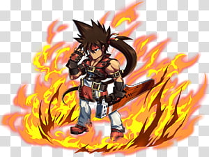 Guilty gear dizzy clipart image black and white Guilty Gear Xrd Guilty Gear 2: Overture Sol Badguy, Guilty Gear Xx ... image black and white