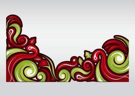 Guirnalda navidena clipart freeuse library Imágenes clip art y gráficos vectoriales Guirnalda de Navidad ... freeuse library