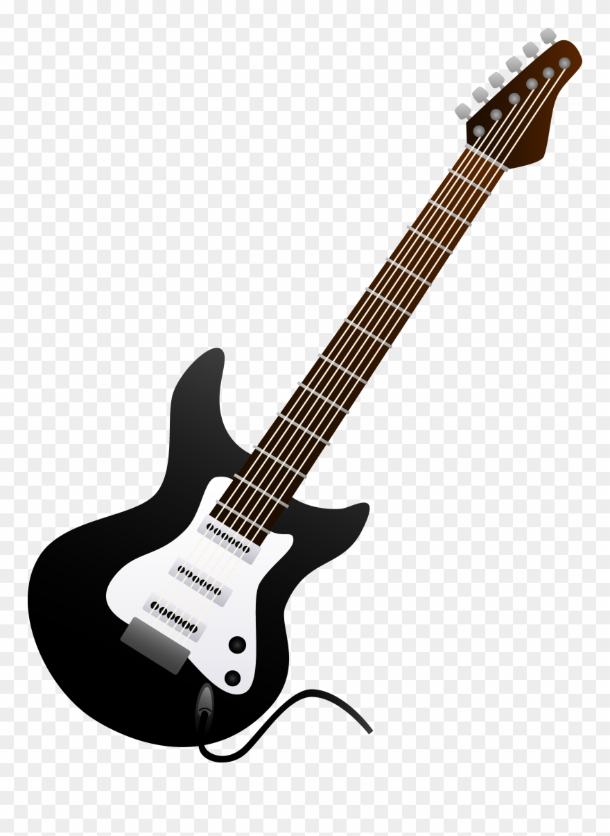 Images guitar clipart picture stock Acoustic Guitar Clipart Clip Art Black - Black Electric Guitar Clip ... picture stock