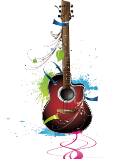 Guitar clipart for picsart vector black and white stock Popular and Trending guitar Stickers on PicsArt vector black and white stock