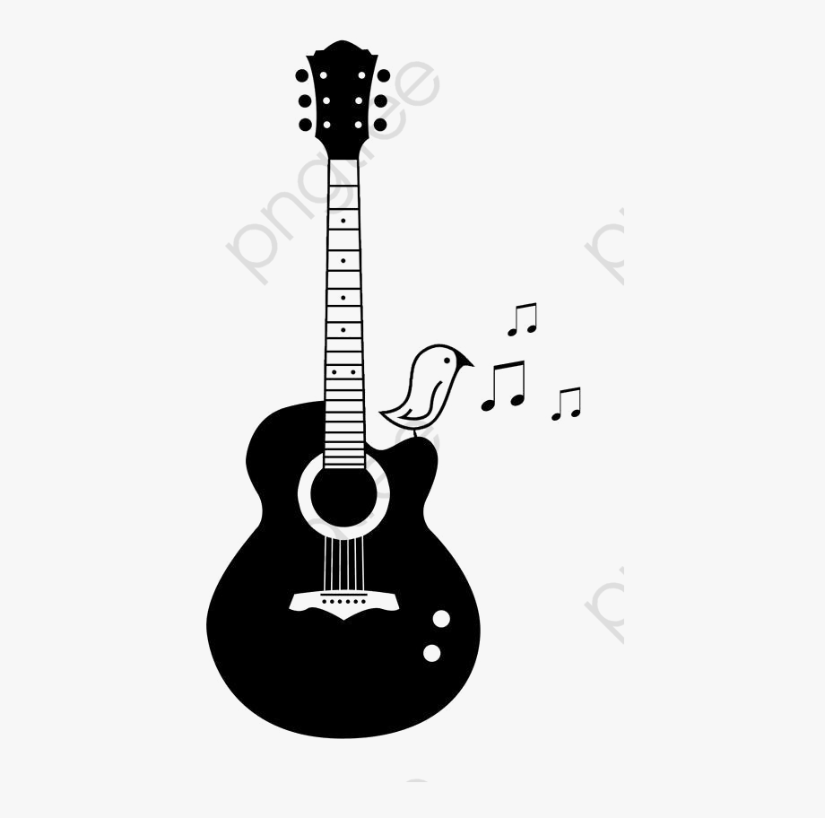 Guitar clipart for picsart clip art royalty free Guitar Clipart Simple - Tattoo Drawing Ideas Guitar #1390003 - Free ... clip art royalty free