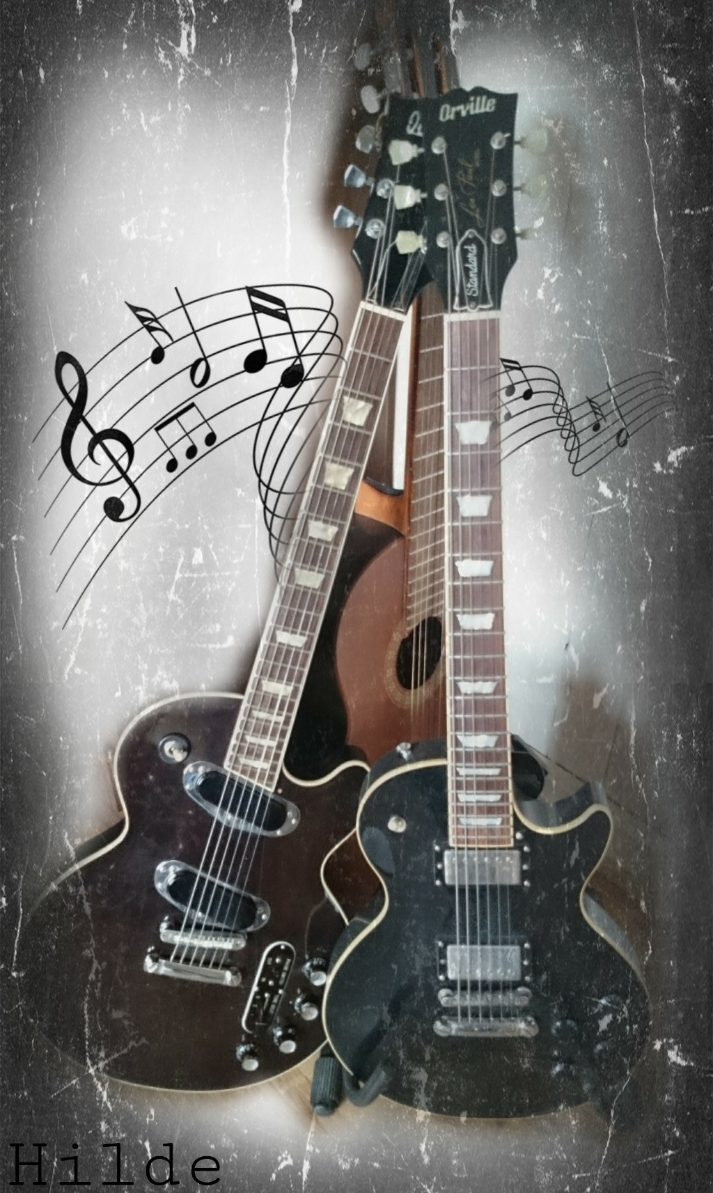 Guitar clipart for picsart picture royalty free music guitar clipart - Image by Hilde picture royalty free
