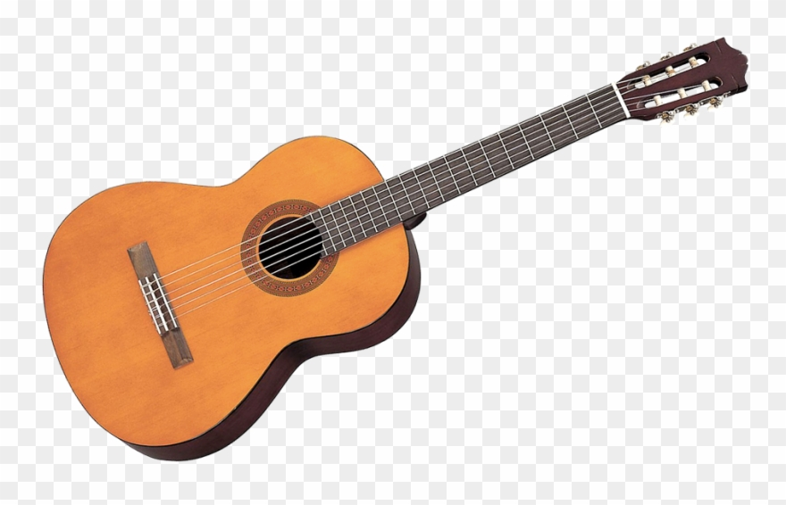Guitar hd clipart picture black and white download Yamaha C40 - Guitar Background Images Hd Clipart (#1862849) - PinClipart picture black and white download