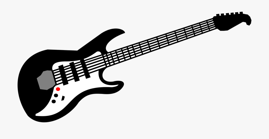 Guitar hd clipart svg free library Guitar Clipart By Renoliver - Electric Guitar Clipart Black And ... svg free library