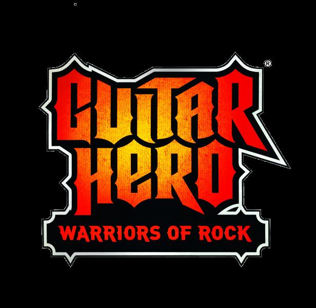 Guitar hero warriors of rock clipart banner black and white library Guitar Hero: Warriors Of Rock logo banner black and white library
