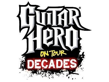 Guitar hero world tour clipart png Full song list for Guitar Hero: On Tour Decades revealed png