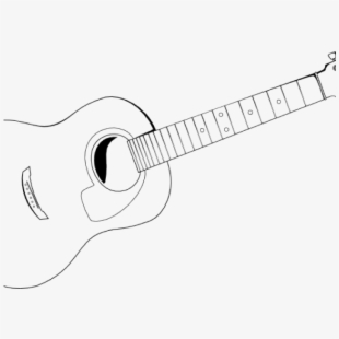 Guitar outline clipart image free download Download Acoustic Clipart Outline And Use In Guitar - Acoustic Clip ... image free download