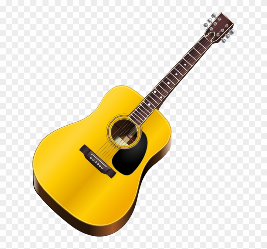 Guitare clipart transparent stock Guitar Clip Art - Guitar Clipart - Png Download (#167198) - PinClipart transparent stock