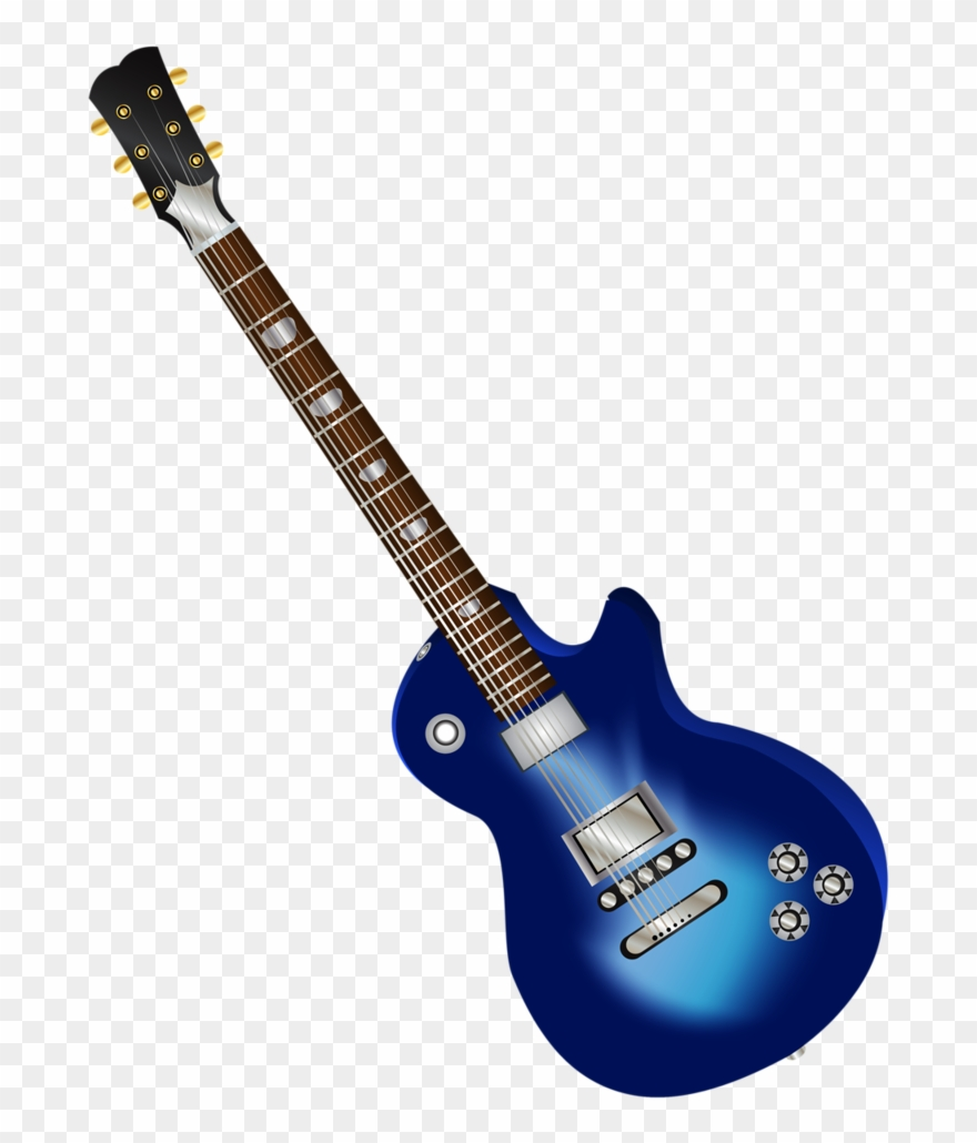 Guitarra dibujo clipart vector transparent Electric Guitar L - Guitarra Electrica Azul Dibujo Png Clipart ... vector transparent