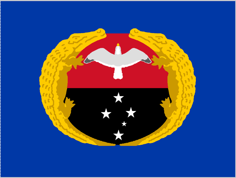 Gulf province clipart map transparent Flag of Gulf Province, Papua New Guinea | Flags with Southern Cross ... transparent