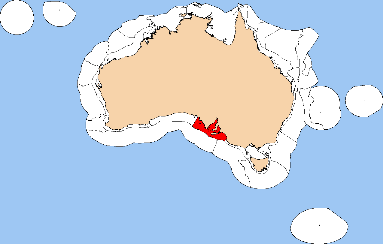 Gulf province clipart map vector freeuse download File:IMCRA 4.0 Spencer Gulf Shelf Province.png - Wikimedia Commons vector freeuse download