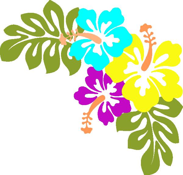 Luau flower clipart jpg free stock Hibiscus Clip Art at Clker.com - vector clip art online, royalty ... jpg free stock