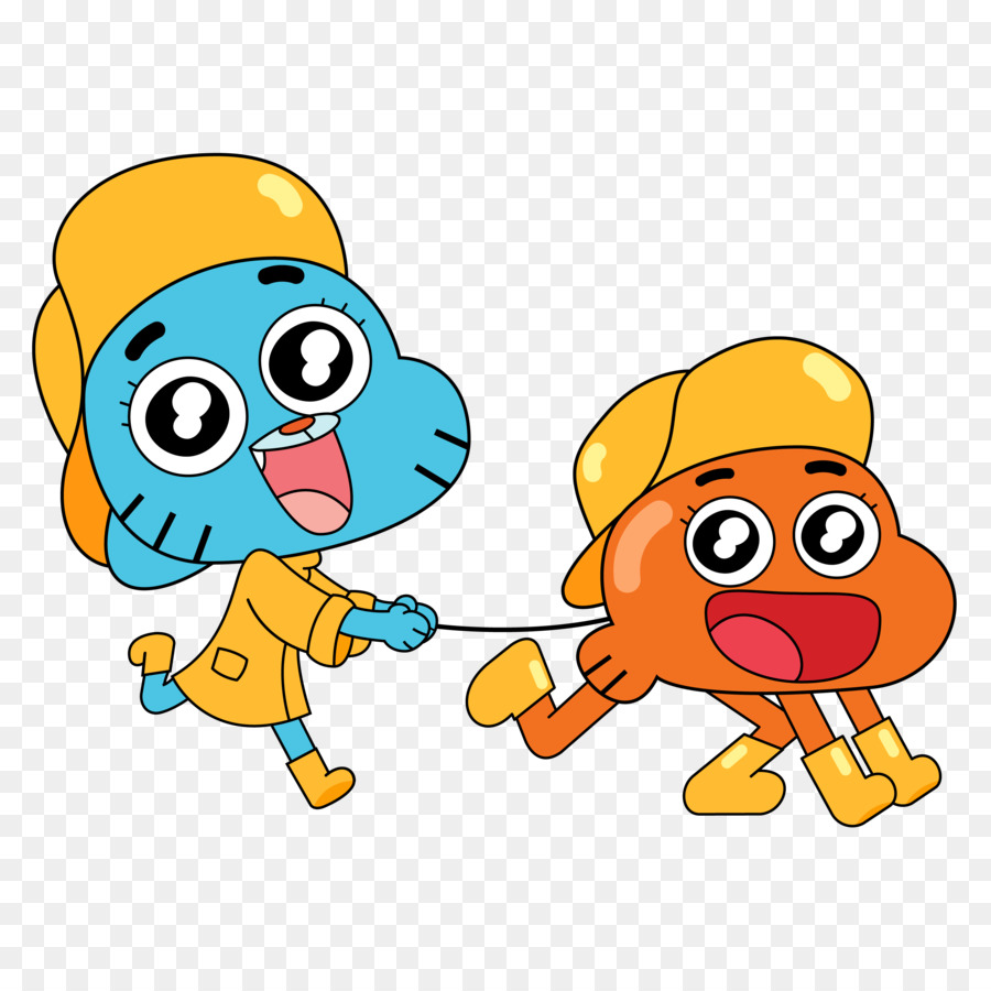 Gumball y darwin clipart picture free download World Cartoon png download - 3000*3000 - Free Transparent Darwin ... picture free download