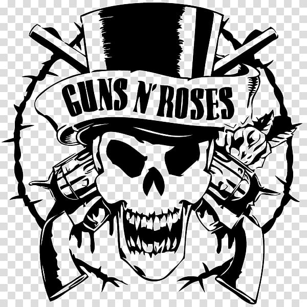 Guns and roses clipart image free library Guns N\' Roses T-shirt Sweet Child O\' Mine Music Use Your Illusion I ... image free library