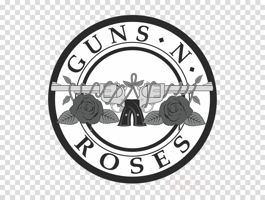 Guns and roses clipart svg royalty free Guns N Roses Logo clipart - Text, Font, Circle, transparent clip art svg royalty free
