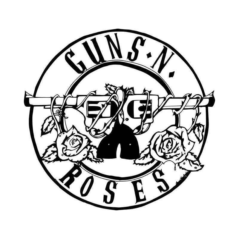 Guns and roses clipart jpg black and white download Guns n roses clipart 5 » Clipart Portal jpg black and white download