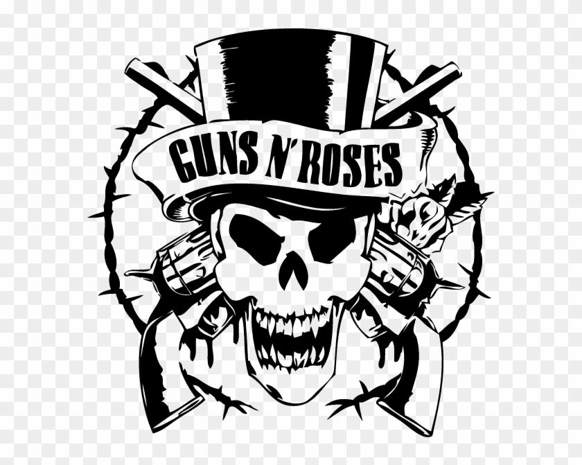 Guns and roses logo vector clipart banner Guns And Roses Logo Vector Png - Guns And Roses Logo Vector ... banner
