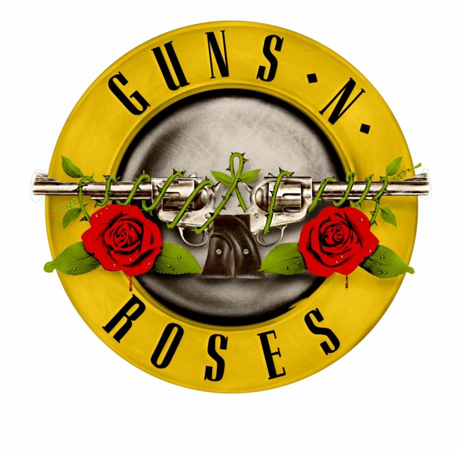 Guns and roses logo vector clipart jpg library Logo Guns N\' Roses Logo Png - Logo Guns And Roses Png Free PNG ... jpg library