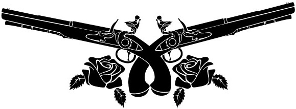 Guns and roses logo vector clipart jpg transparent stock Guns n roses logo skull free vector download (69,978 Free vector ... jpg transparent stock